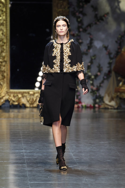 Dolce&Gabbana Women's F-W 2012-2013-Bianca Balti